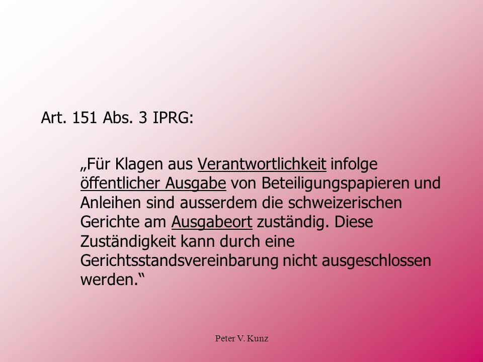 Art. 151 Abs. 3 IPRG: