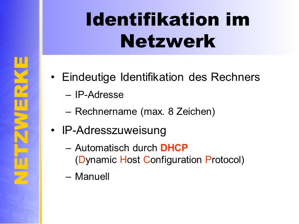 Identifikation im Netzwerk