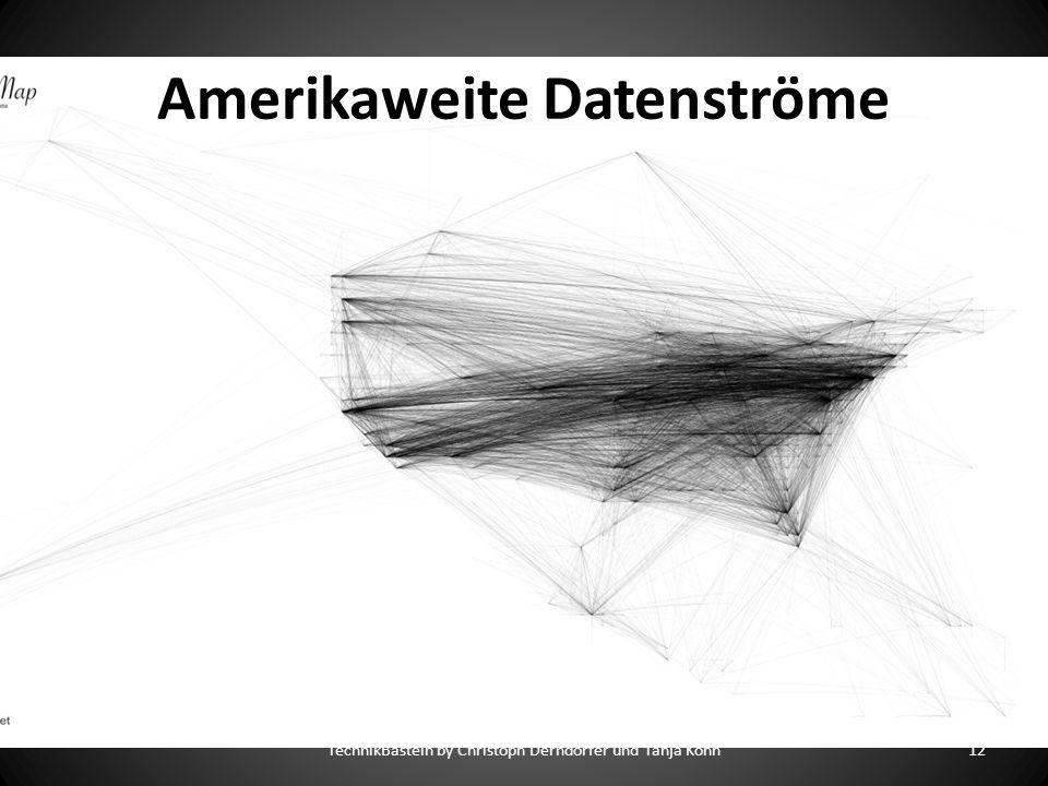 Amerikaweite Datenströme