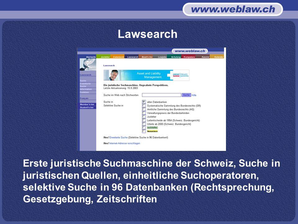 Lawsearch