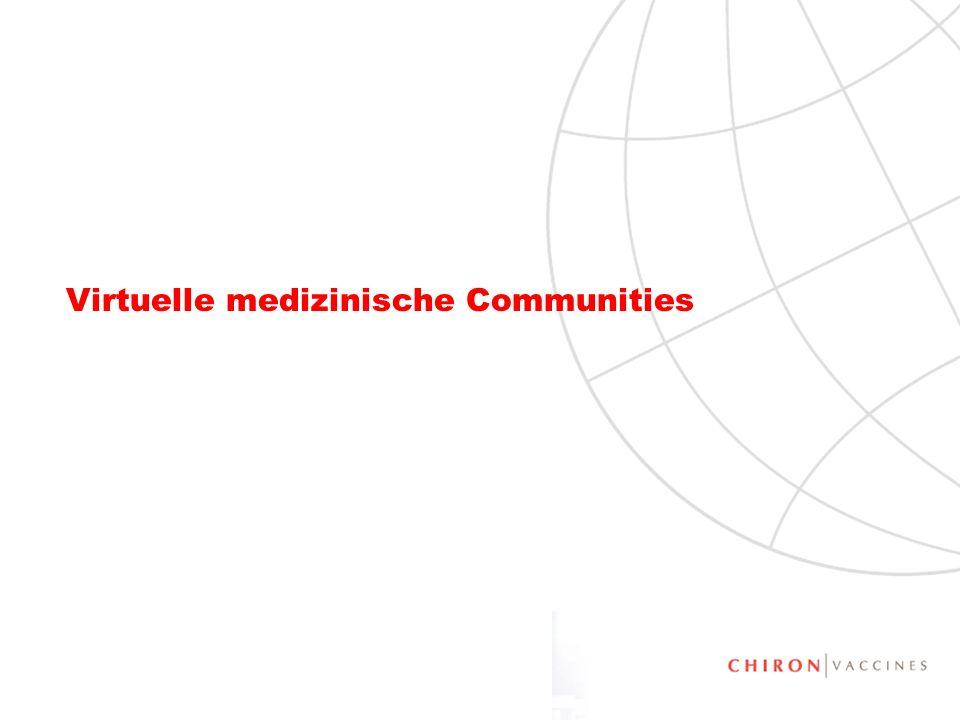 Virtuelle medizinische Communities