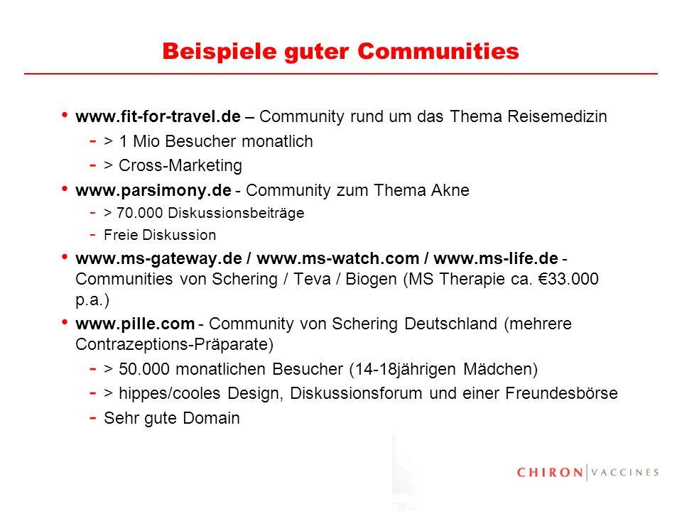 Beispiele guter Communities