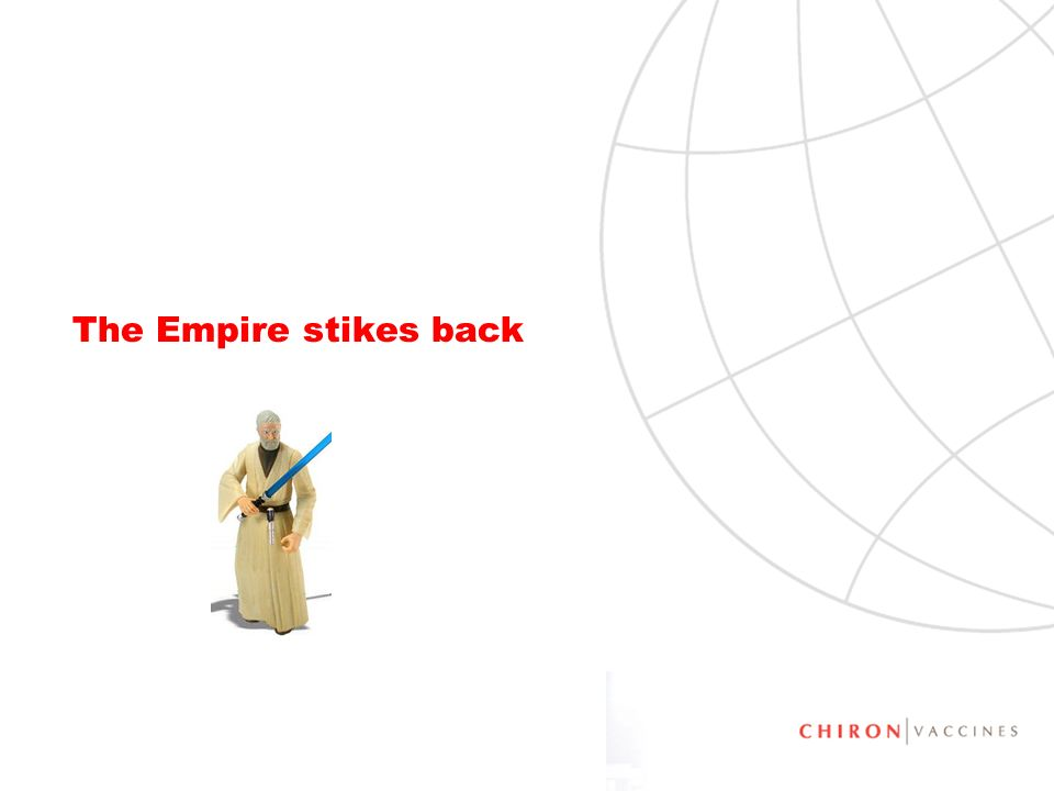 The Empire stikes back