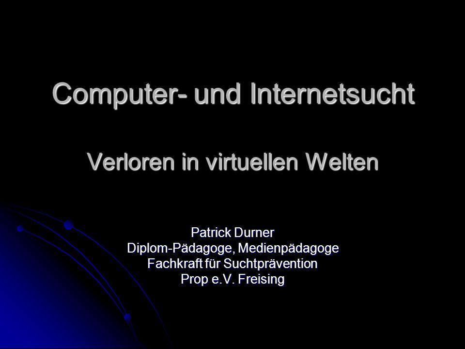 Computer- und Internetsucht Verloren in virtuellen Welten