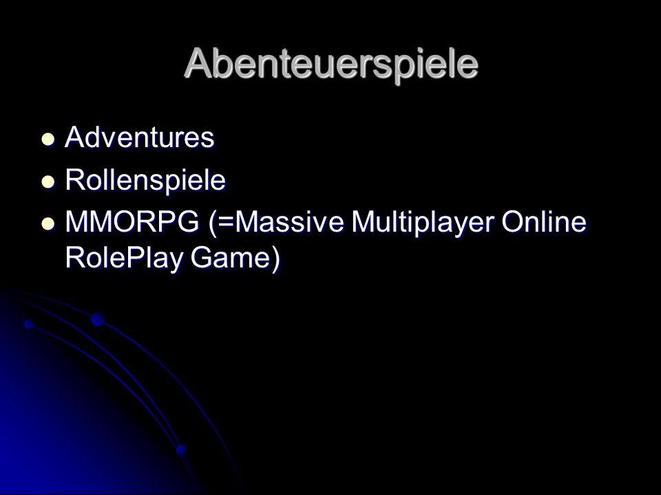Abenteuerspiele Adventures Rollenspiele