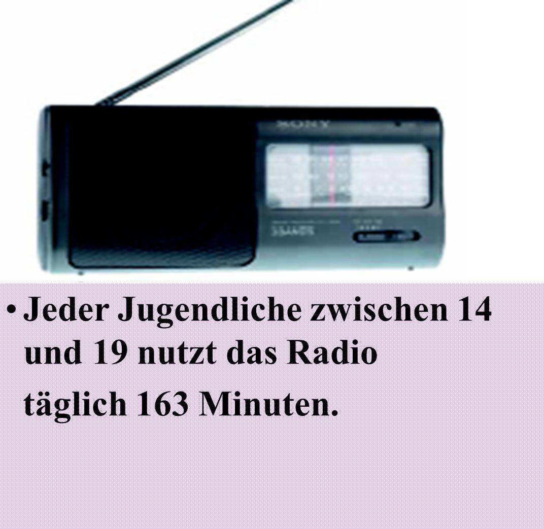 Jeder Jugendliche zwischen 14 und 19 nutzt das Radio