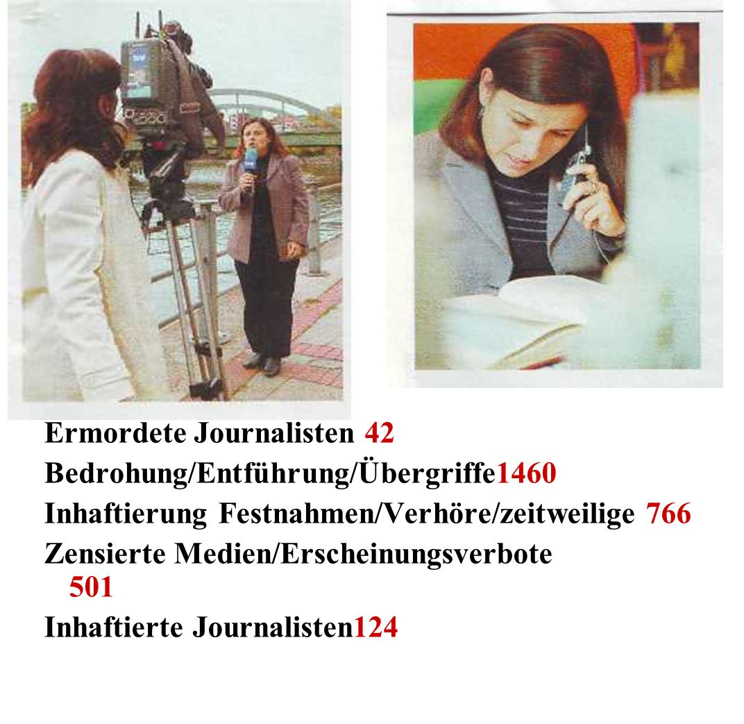 Ermordete Journalisten 42
