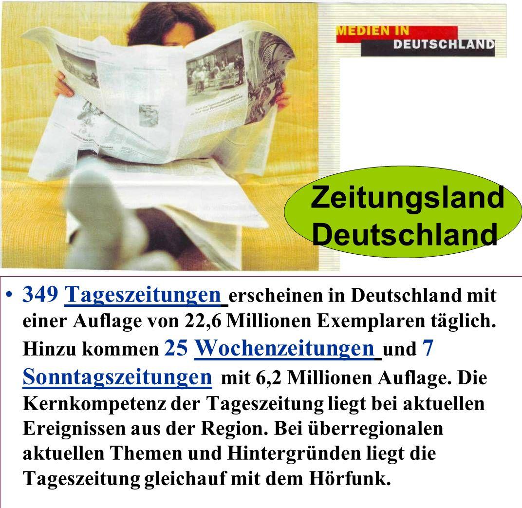 Zeitungsland Deutschland: