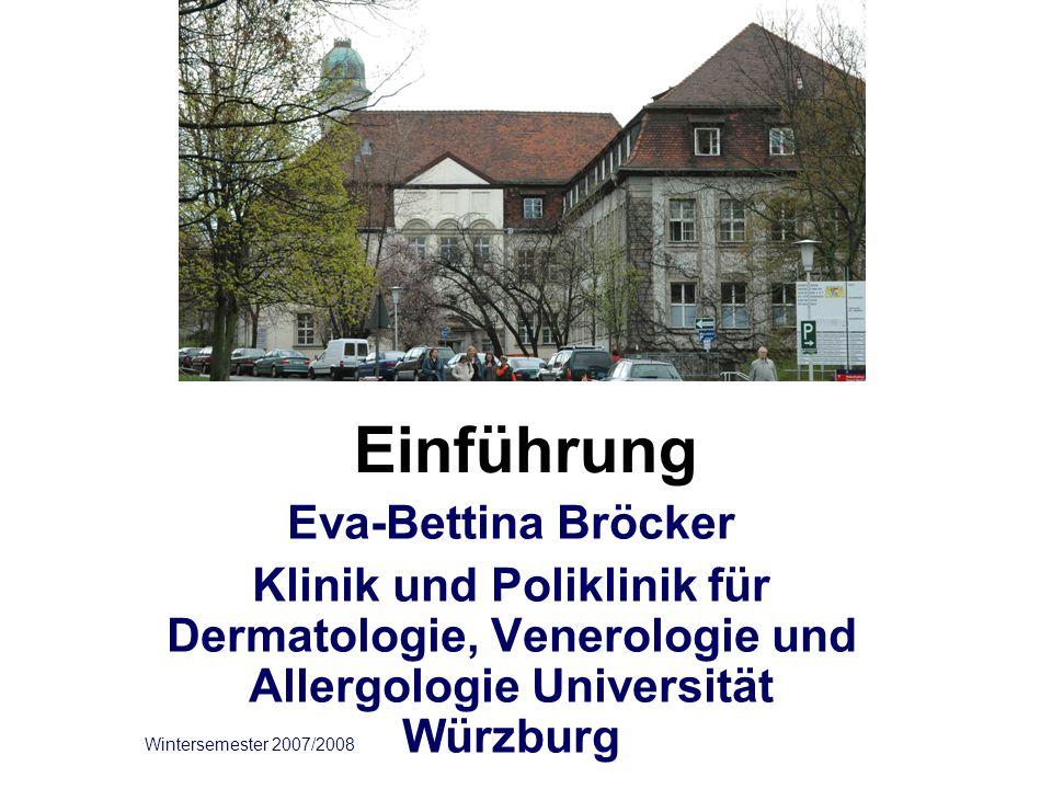 Einführung Eva-Bettina Bröcker