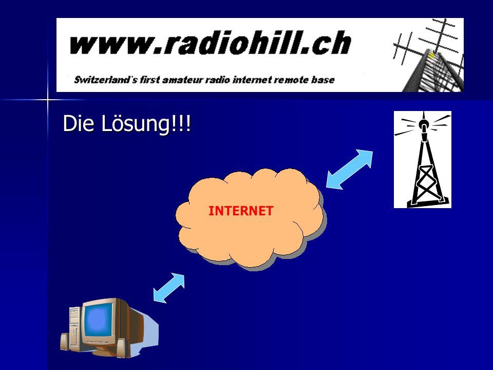 Die Lösung!!! INTERNET