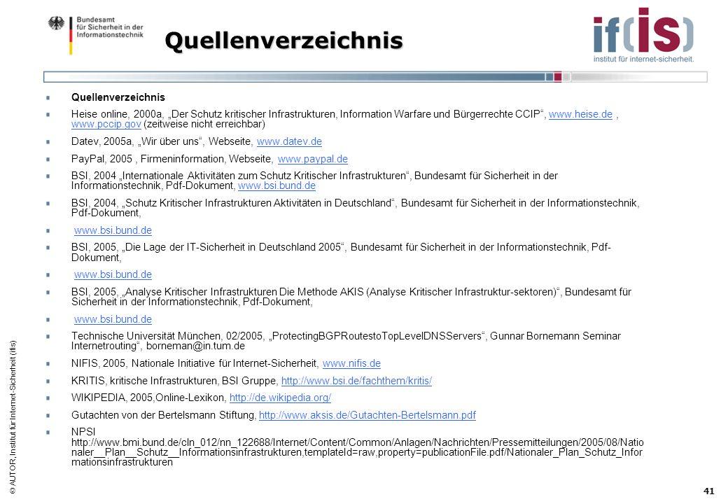 Quellenverzeichnis Quellenverzeichnis