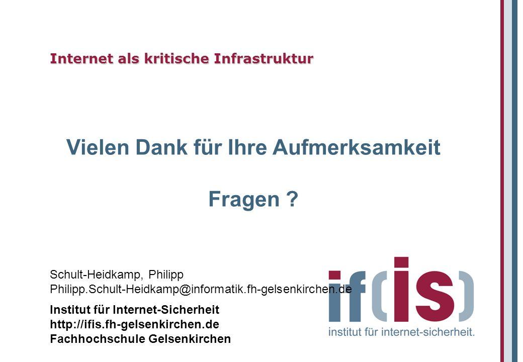 Internet als kritische Infrastruktur