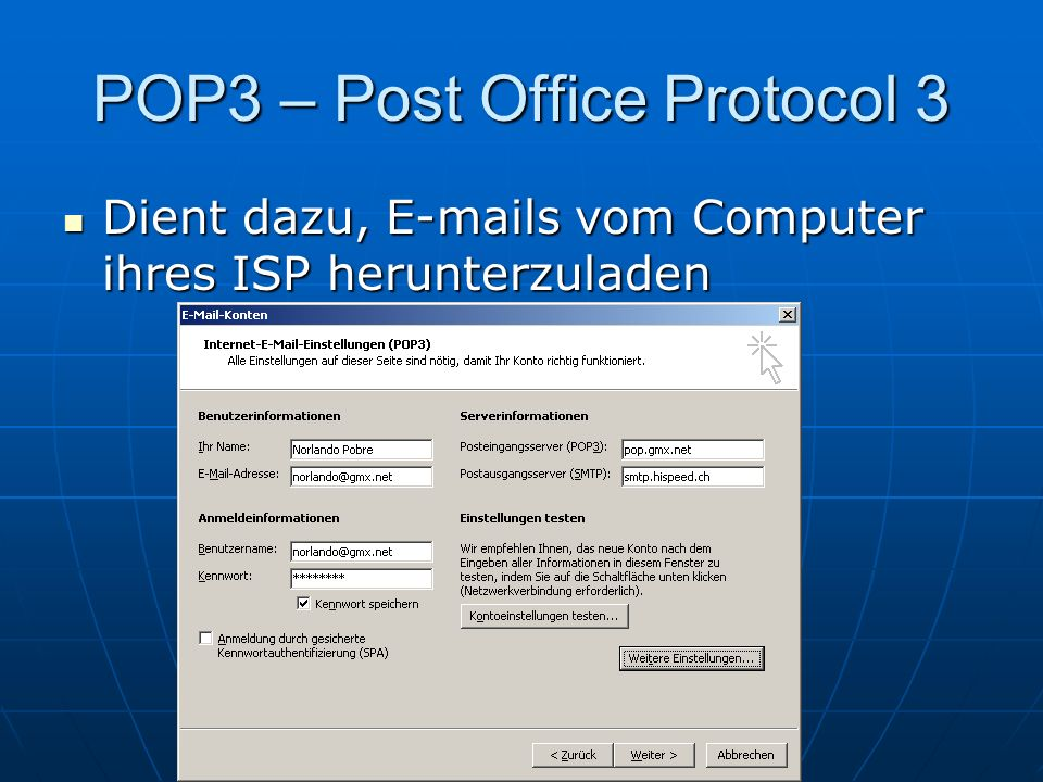 POP3 – Post Office Protocol 3