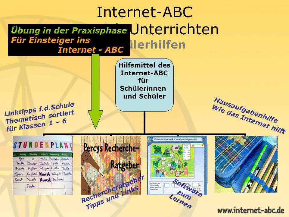 Internet-ABC Bereich Unterrichten Schülerhilfen