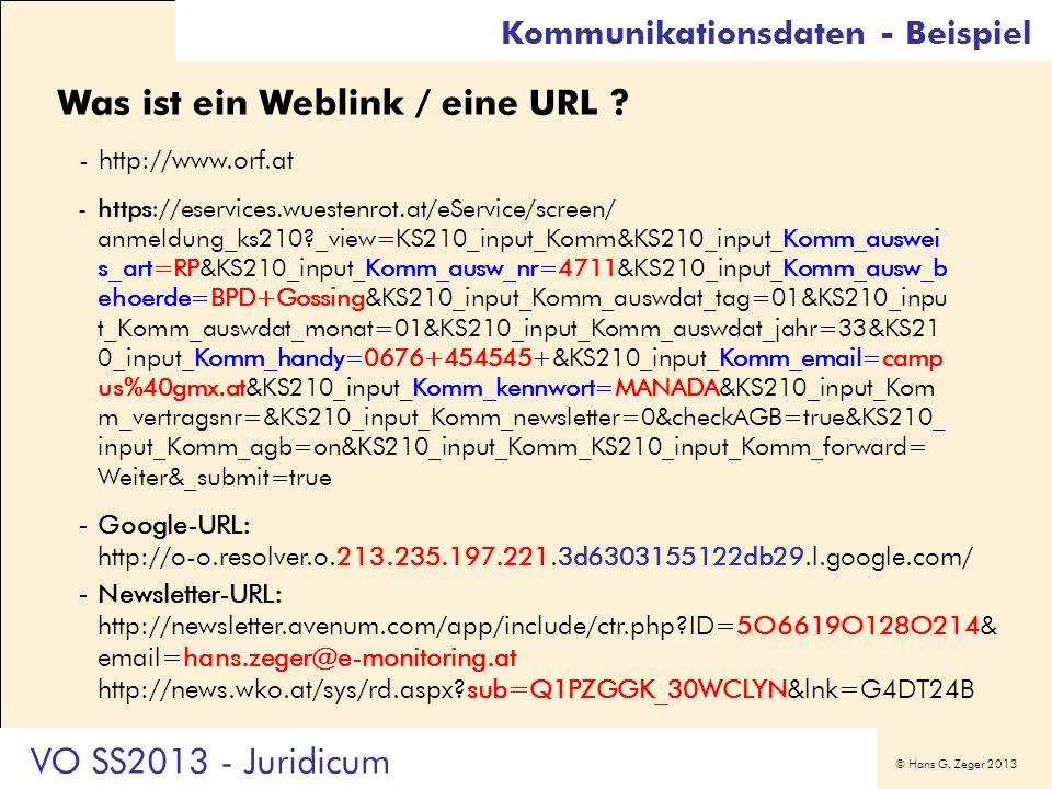 Was ist ein Weblink / eine URL