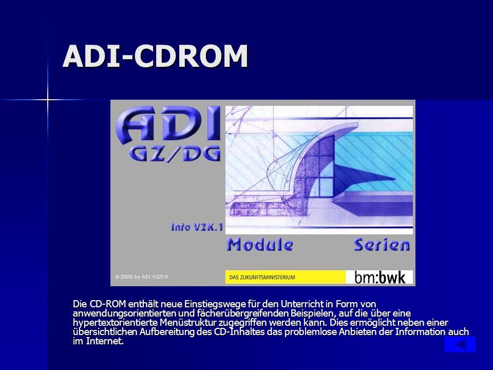 ADI-CDROM Jeweils einen Link.