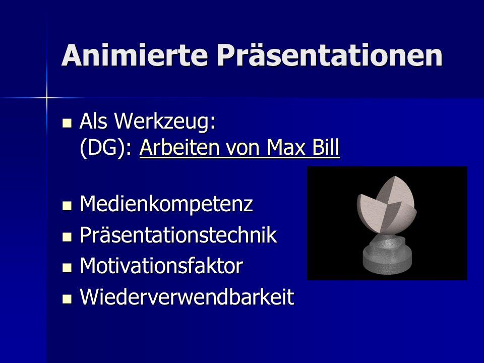 Animierte Präsentationen