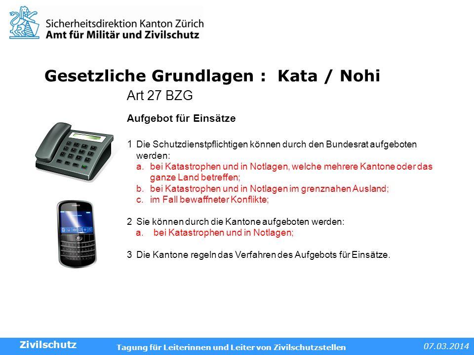 Gesetzliche Grundlagen : Kata / Nohi