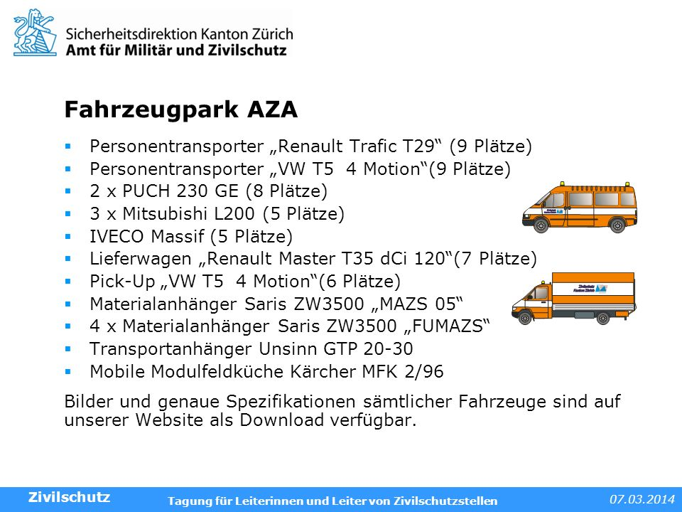 "Fahrzeugpark AZA Personentransporter ""Renault Trafic T29 (9 Plätze)"