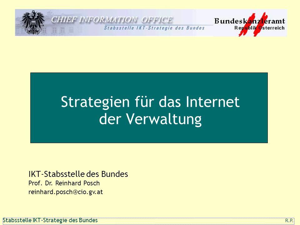 Strategien für das Internet der Verwaltung