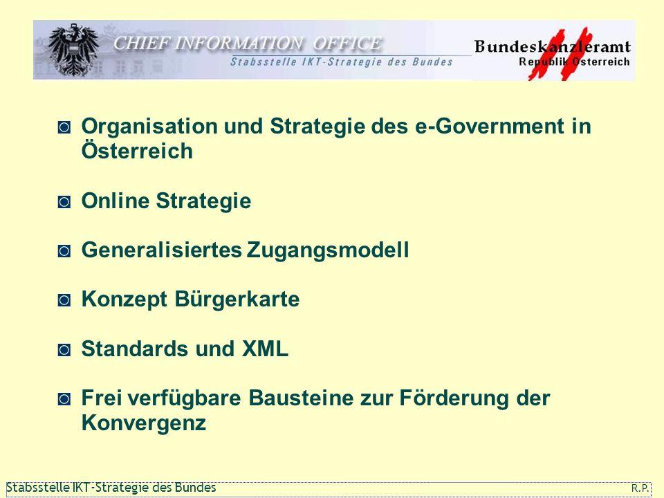 Organisation und Strategie des e-Government in Österreich