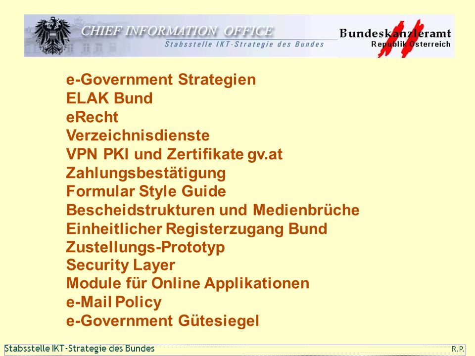 e-Government Strategien
