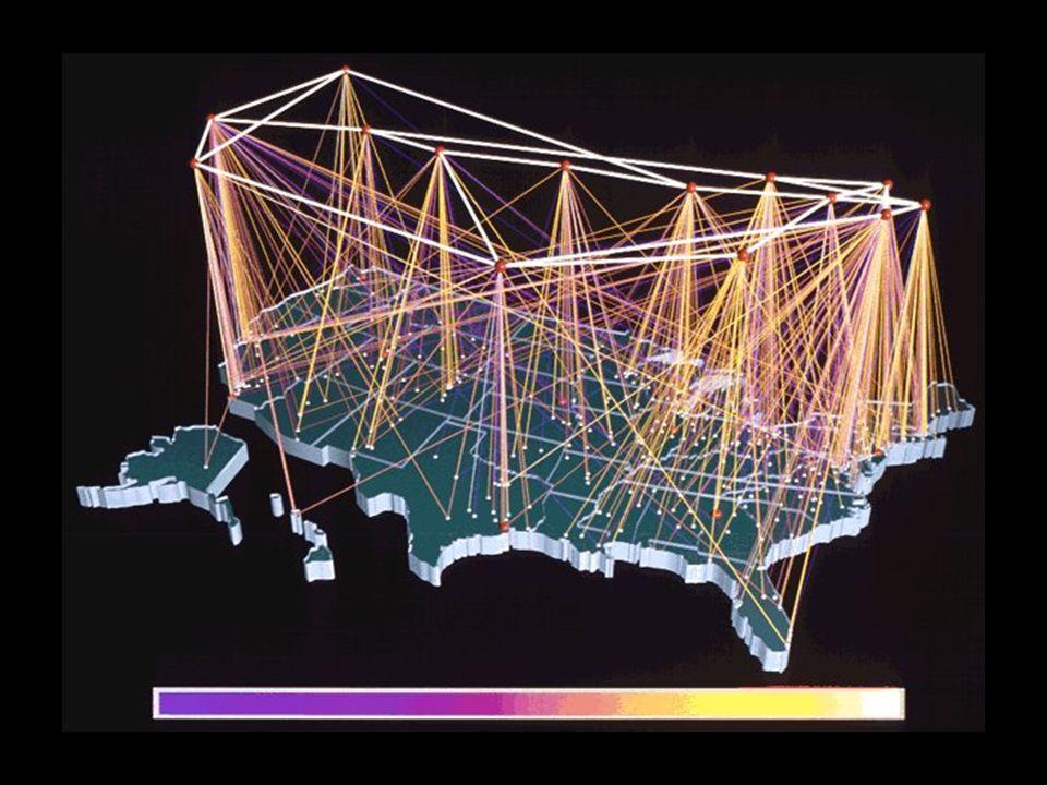 Der NSFNET Backbone (USA)