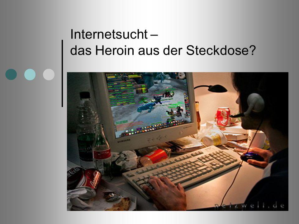 Internetsucht – das Heroin aus der Steckdose