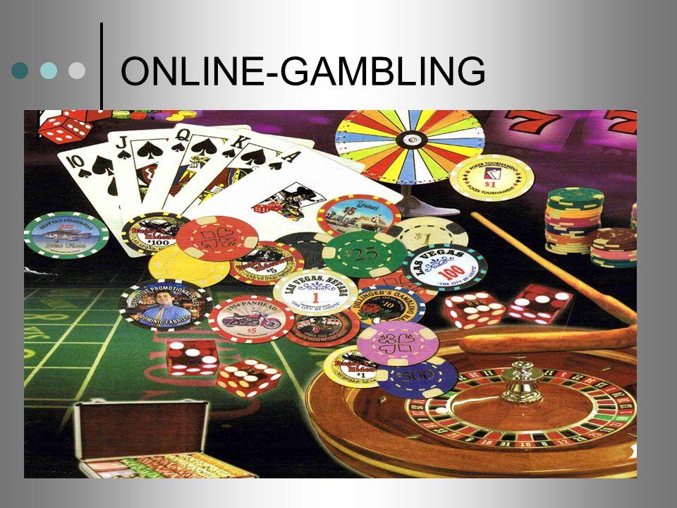 ONLINE-GAMBLING Das erste Online-Kasino wurde im August 1995 von Internet Casino Incorporate ins Netz gestellt.