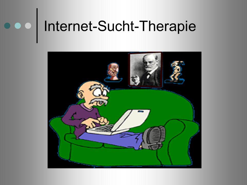 Internet-Sucht-Therapie