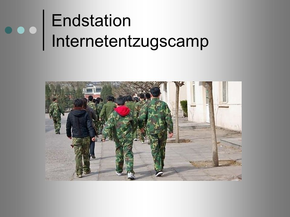 Endstation Internetentzugscamp