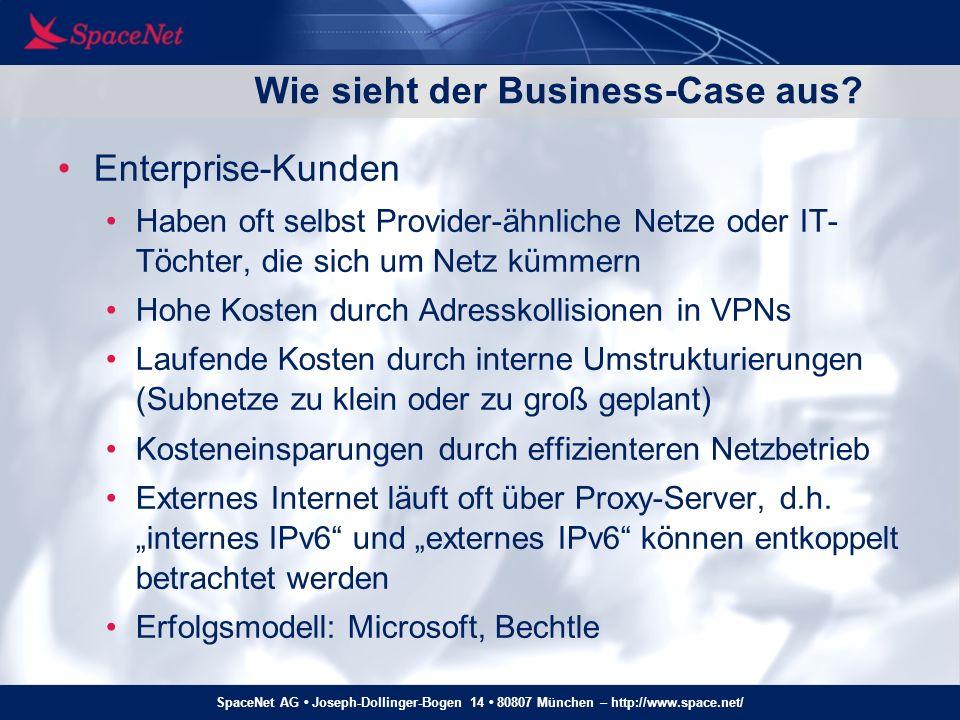 Wie sieht der Business-Case aus