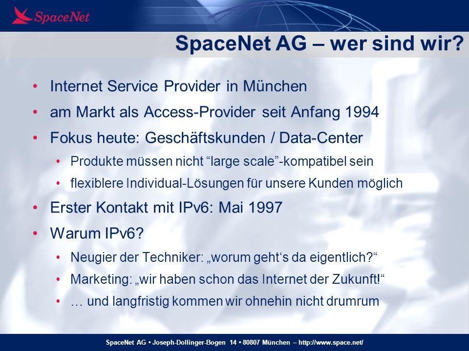 SpaceNet AG – wer sind wir