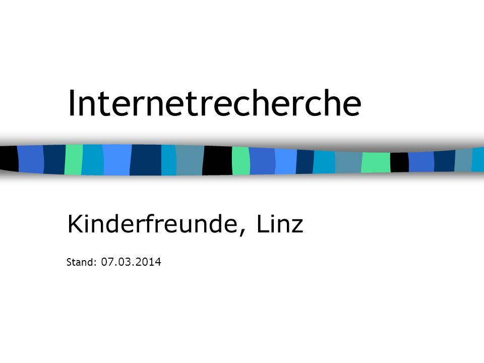 Kinderfreunde, Linz Stand: 28.03.2017