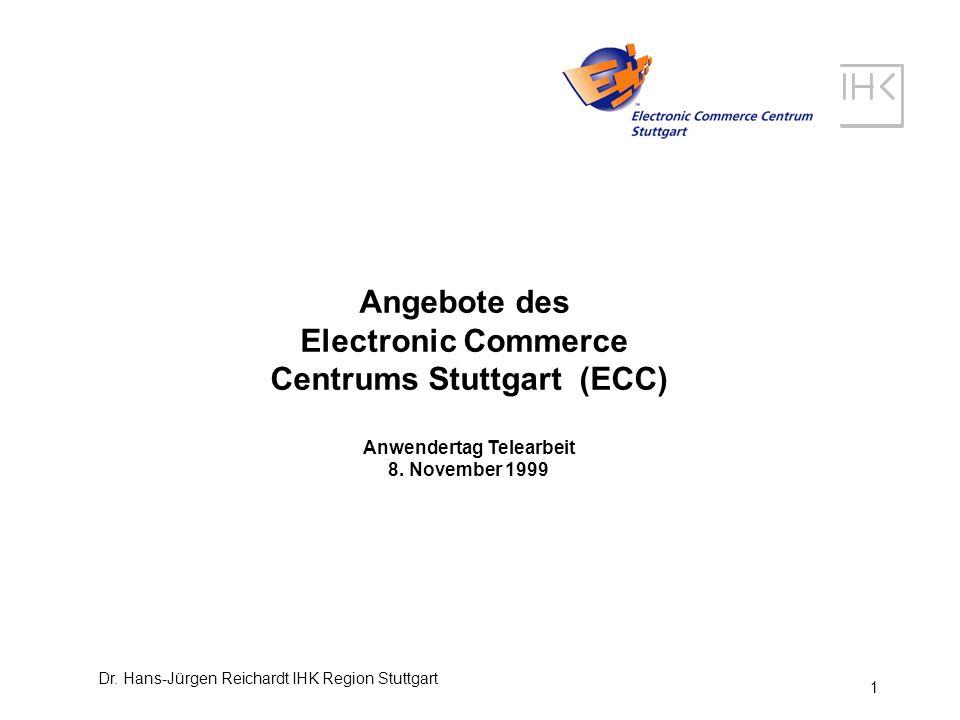 Angebote des Electronic Commerce Centrums Stuttgart (ECC)