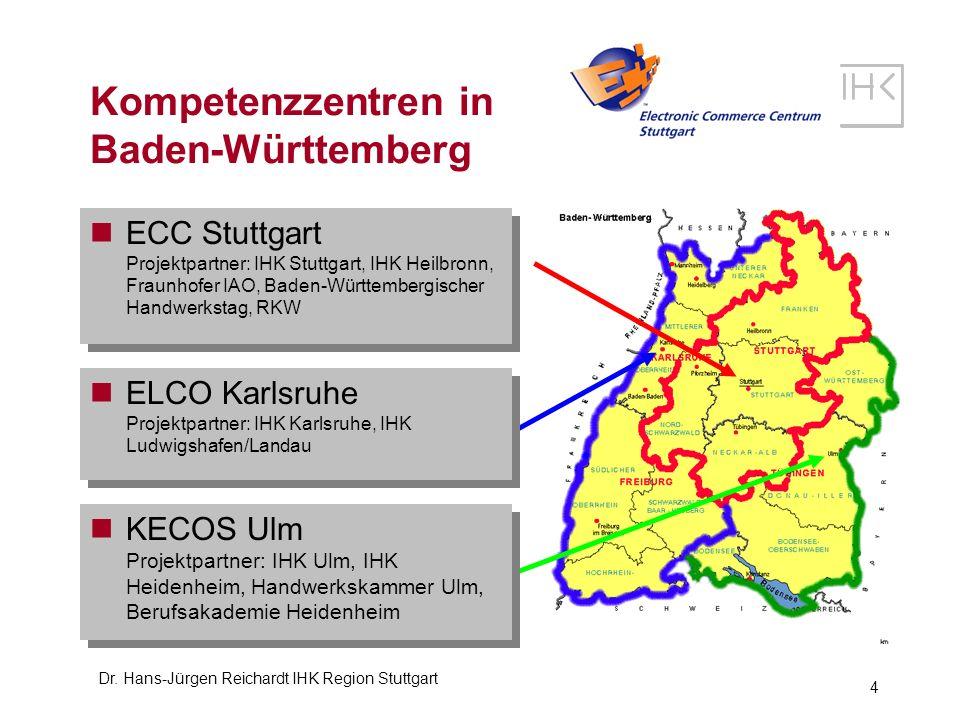 Kompetenzzentren in Baden-Württemberg