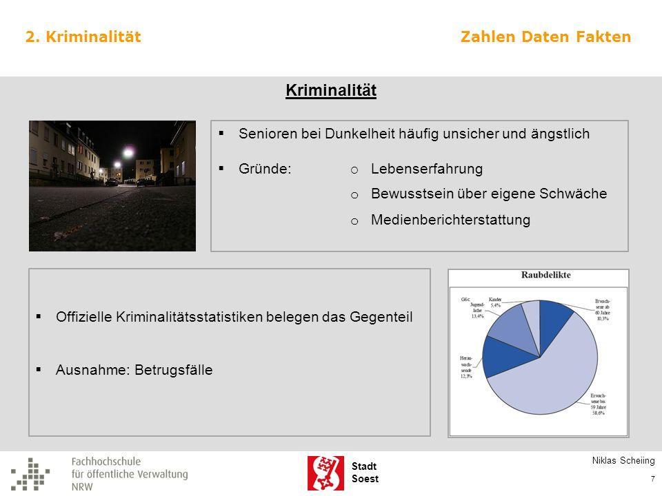 Kriminalität 2. Kriminalität Zahlen Daten Fakten