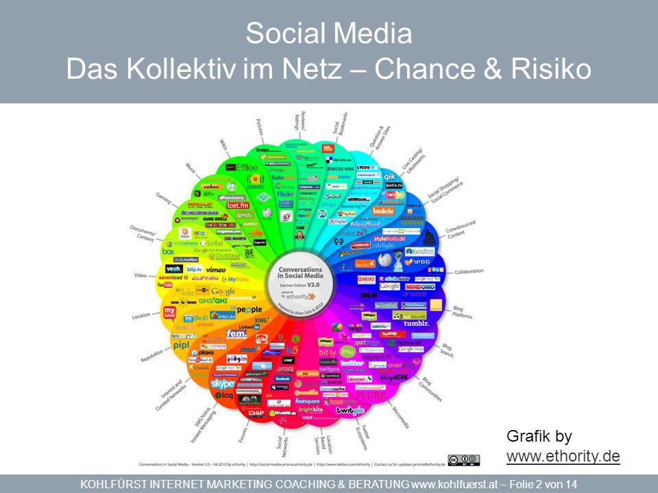Social Media Das Kollektiv im Netz – Chance & Risiko