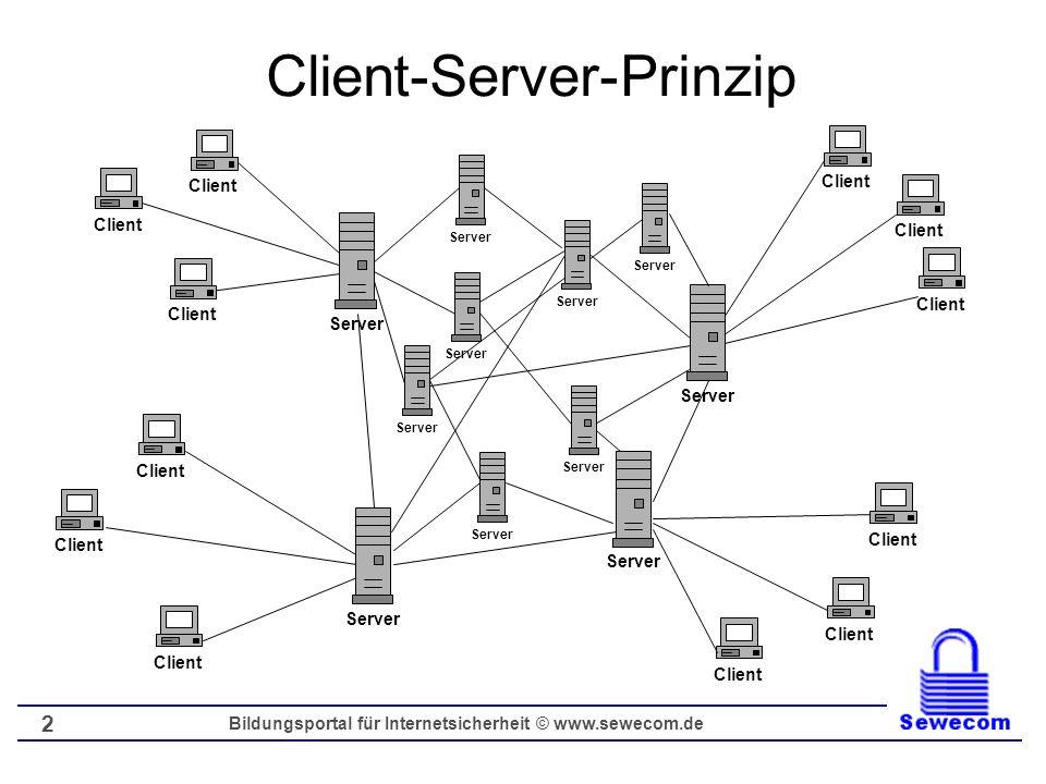 Client-Server-Prinzip