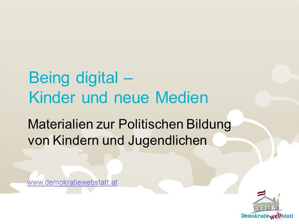 Being digital – Kinder und neue Medien