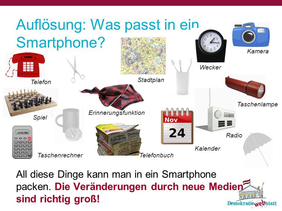 Auflösung: Was passt in ein Smartphone