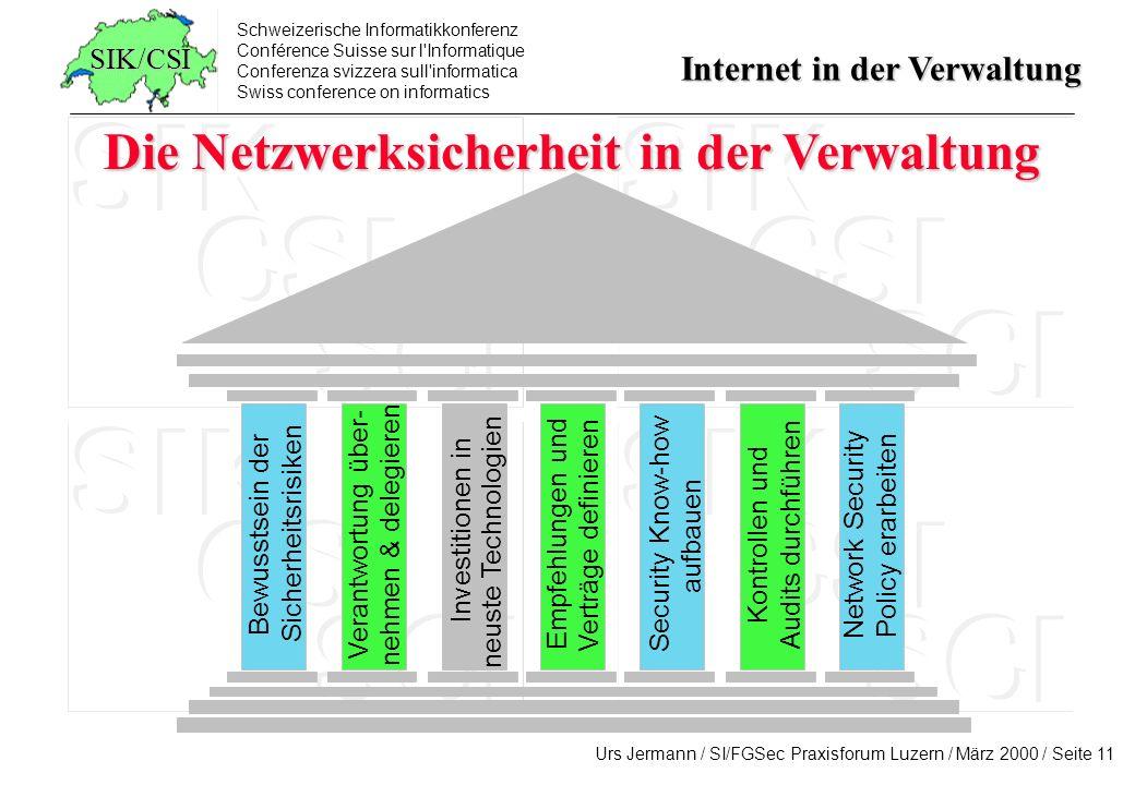 Die Netzwerksicherheit in der Verwaltung