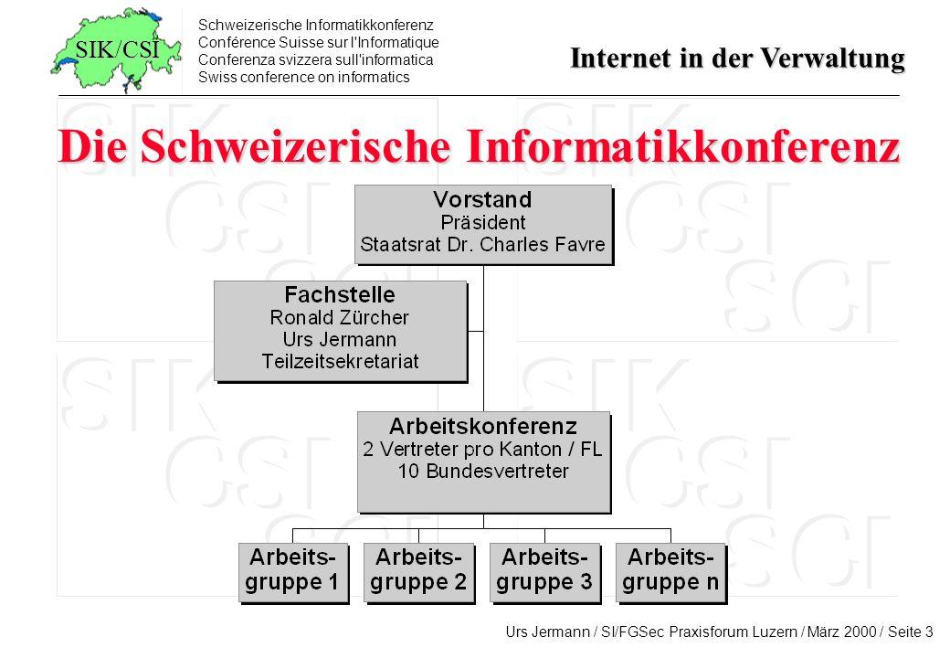 Die Schweizerische Informatikkonferenz