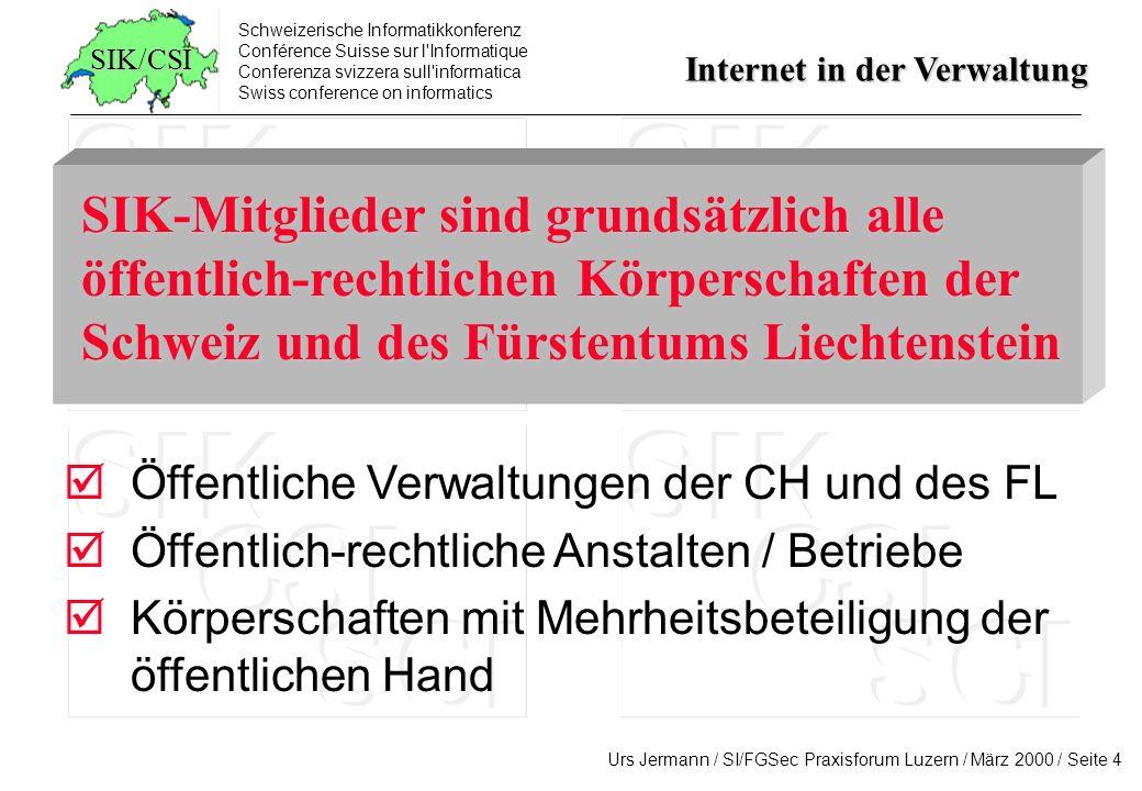 SIK-Mitglieder sind grundsätzlich alle öffentlich-rechtlichen Körperschaften der Schweiz und des Fürstentums Liechtenstein