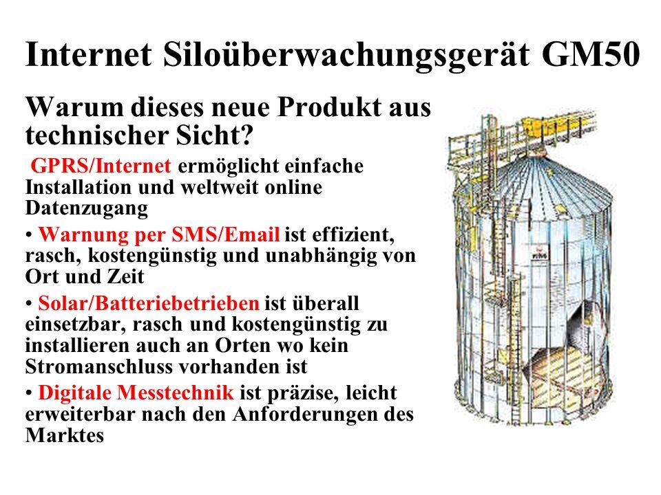 Internet Siloüberwachungsgerät GM50