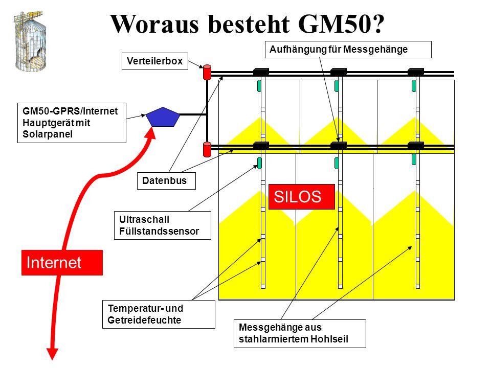 Woraus besteht GM50 SILOS Internet Aufhängung für Messgehänge