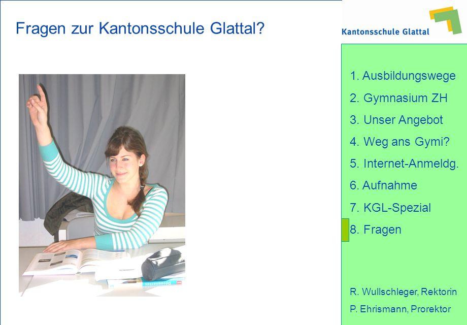 Fragen zur Kantonsschule Glattal