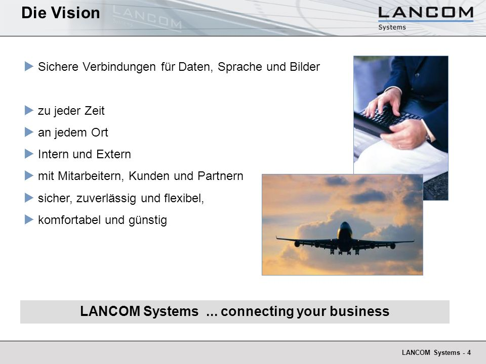 LANCOM Systems ... connecting your business