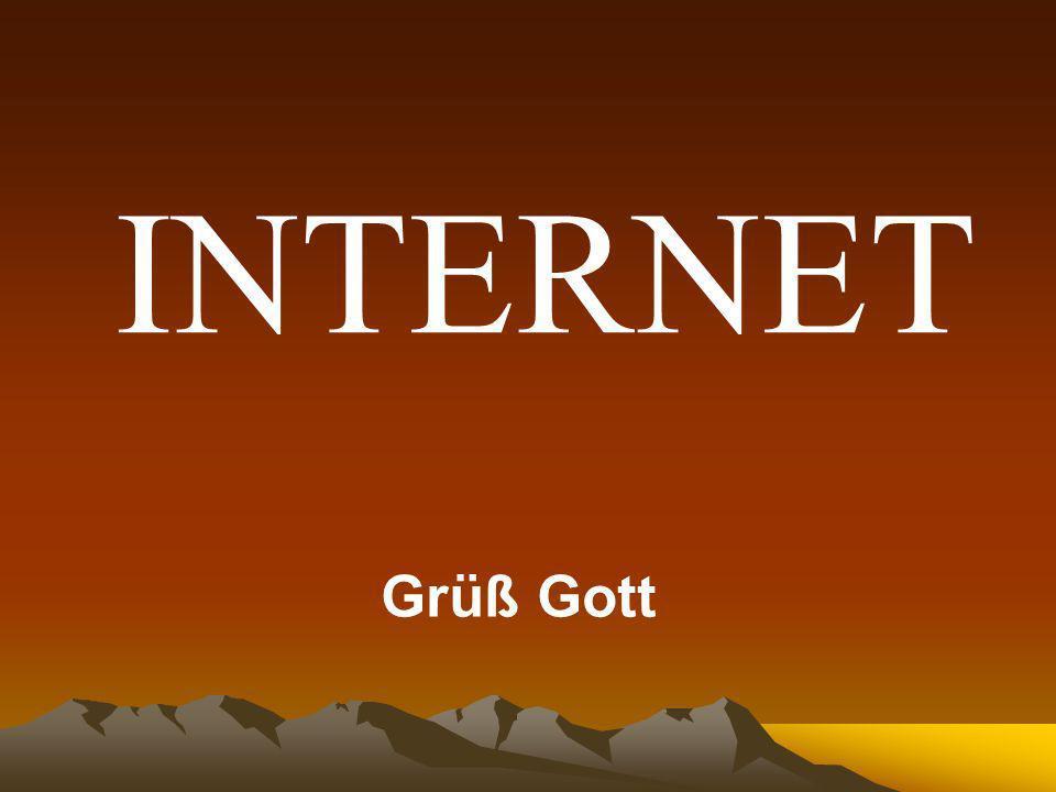 INTERNET Grüß Gott