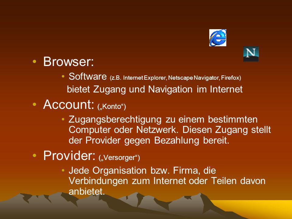 """Provider: (""""Versorger )"""